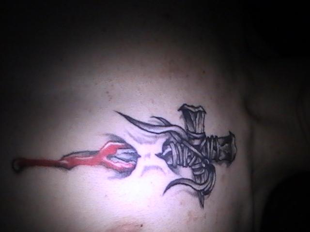 My tattoo - chest tattoo