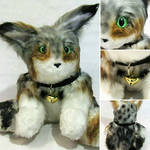Bobcat Teddy Plush by Highwinds2C