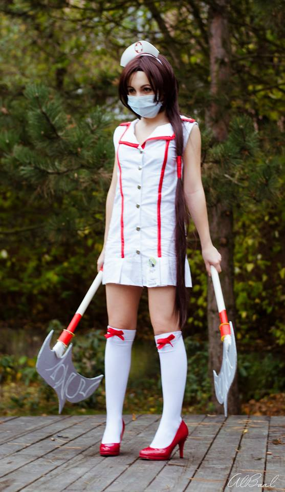 League of Legends - Nurse Akali cosplay 02 by CZSKLoLCosplayers