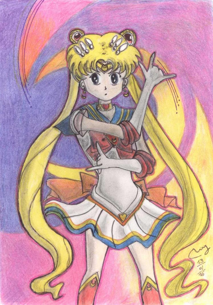I am Sailor Moon by Rowanrho