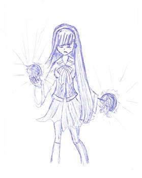 Magical -too aggresive- girl