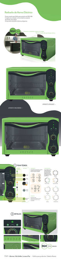 Electric Oven Design