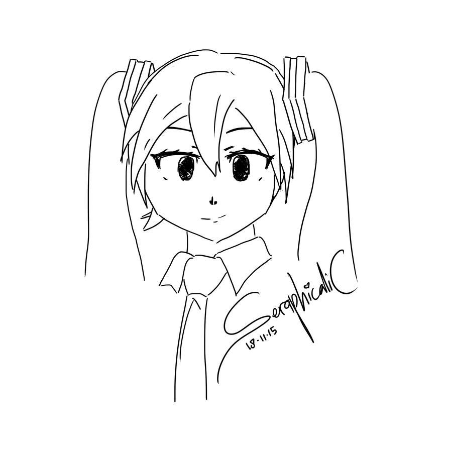 Hatsune Miku by mozamozamoza