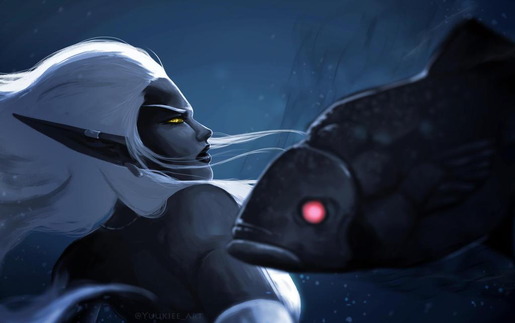 Azshara - Warbringers by Yuukieeart
