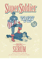 Got a little Cap in You? Super Soldier Serum by mike-loscalzo