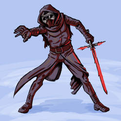 Kylo Ren by mike-loscalzo