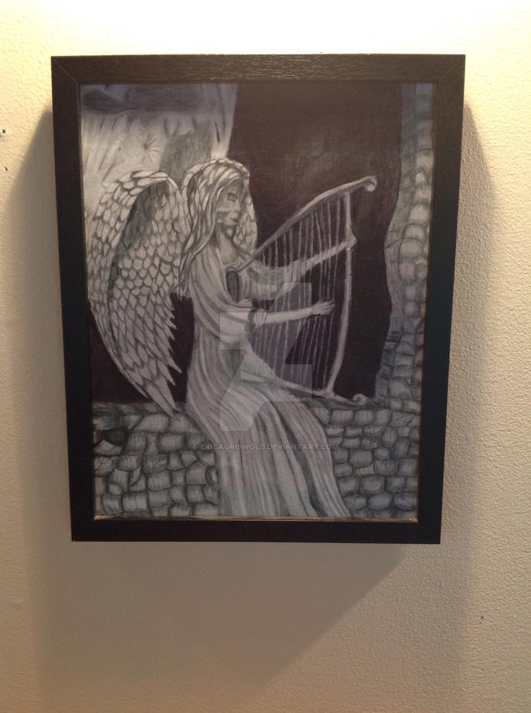 Gothic angel by EricaGriswold
