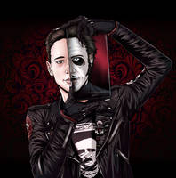 Tobias Forge by DarkButterflyOfNight