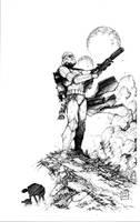 Storm Trooper by joshmedorsart