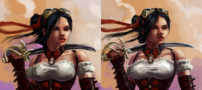 sketch comparison