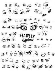 Harley Quinn Eyes References
