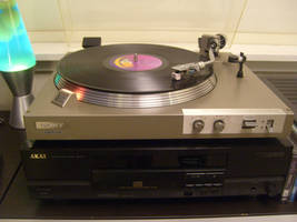 SONY PS-212 Direct Drive Turntable System by Quadrafox700