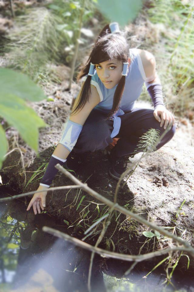 Legend of Korra Cosplay by OranngeLightning