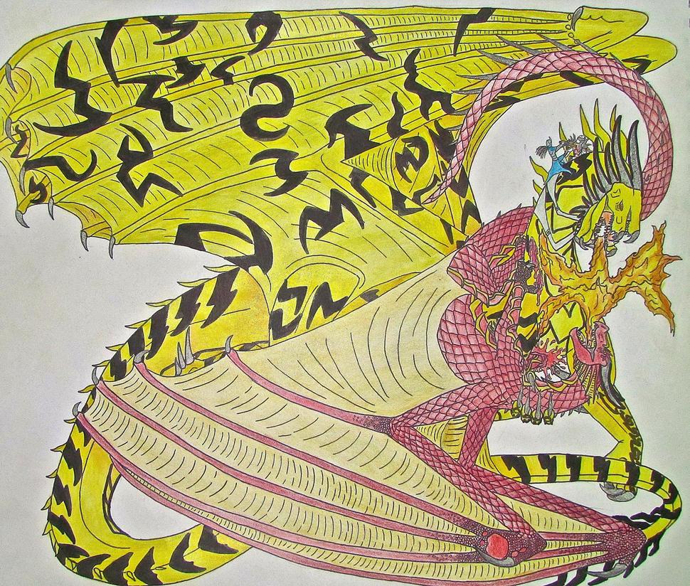 Gold Dragon Vs Red Dragon