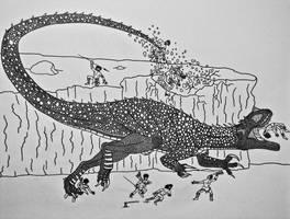 Majestasaurus by Saberrex
