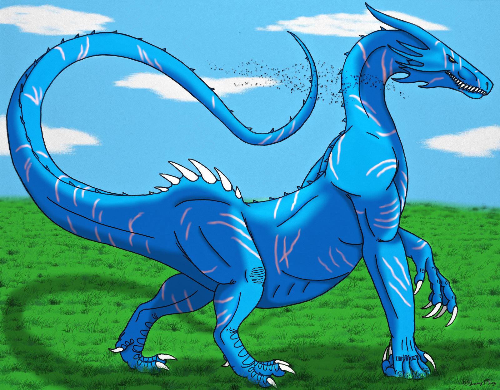 Knuckle-walker Dragon- Color rendition