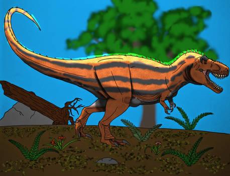 Tyrannosaurus rex- New Design Part 6