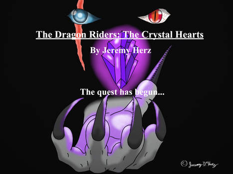 The Dragon Riders: The Crystal Hearts -Promo Art