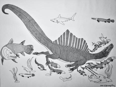 Spinosaurus aegypticus- The Sea King