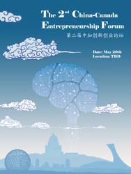 Poster for China-Canada Entrepreneurship Forum