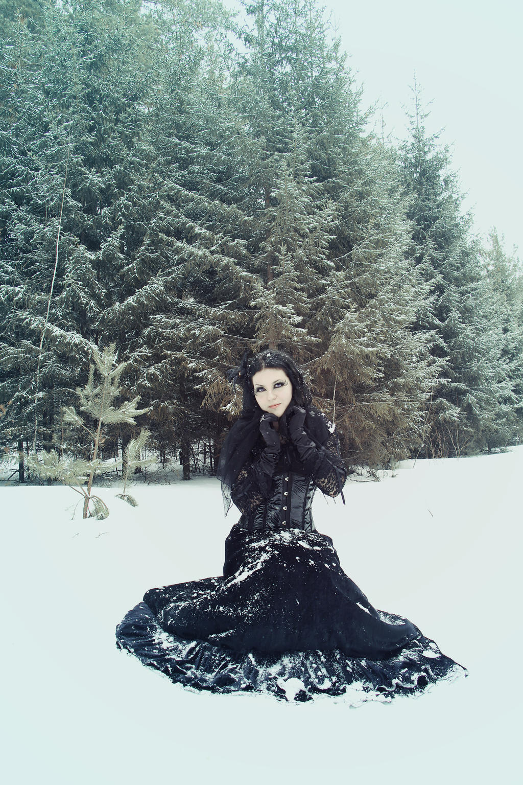 Gothic winter stock_2 by MysteriaViolentStock