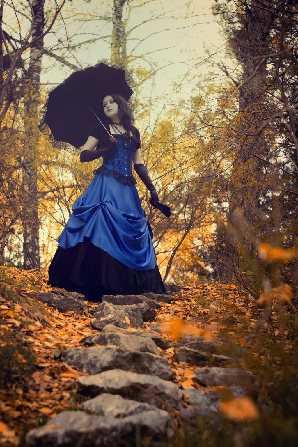 Gothic fall stock by MysteriaViolentStock