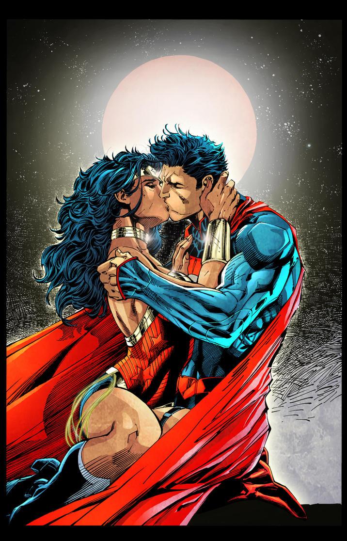 superman_wonder woman_ by fredcomic on deviantART
