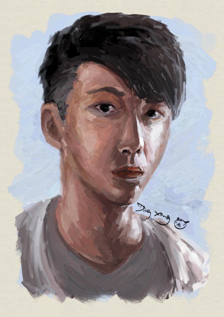 Self Portrait(???) by superMARIAbros