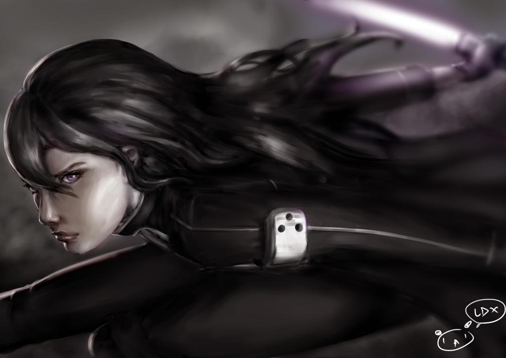 The Black Swordsman by superMARIAbros