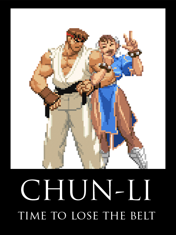 Ryu X Chun-Li 3 by CruiseShipper