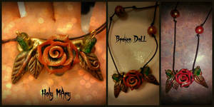 Goth Rose by Intellexia