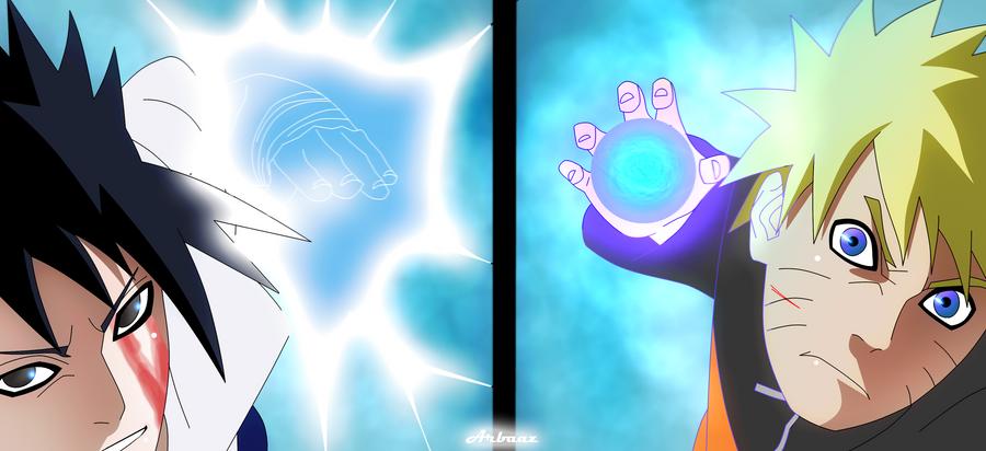 Chidori vs Rasengan by Warbaaz1411 on DeviantArt