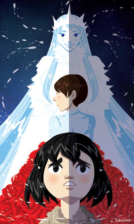 The Snow Queen by Schlissel-art