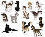 Hamilton dog designs