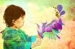 Adora-Touch the beautiful purple