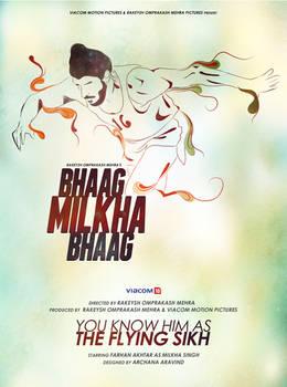 Fan Art Poster- Bhaag Milkha Bhaag