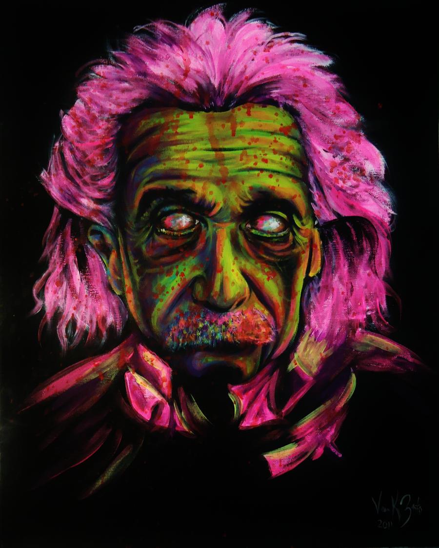 Zombie Albert Einstein By VanZanto On DeviantArt