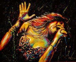 Janis Joplin by VanZanto