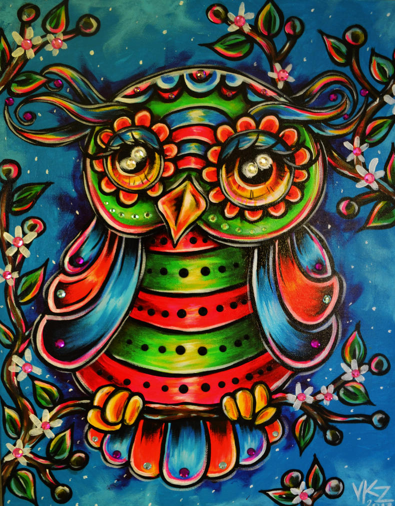 Hoo would buy and owl painting by vanzanto on deviantart for Buy mural paintings