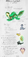 Spagglegeck : Species Sheet : READ THE COMMS