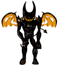 Beast Bendy (Not the original one) by YellowBonnie01