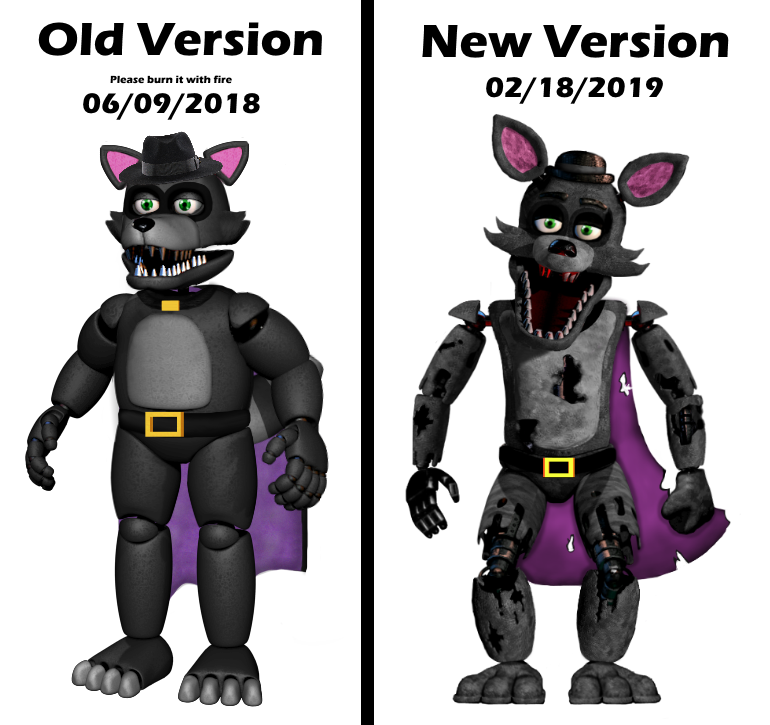 Another Comparison by YellowBonnie01