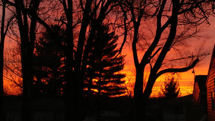 Sky on Fire by darkdayswemake