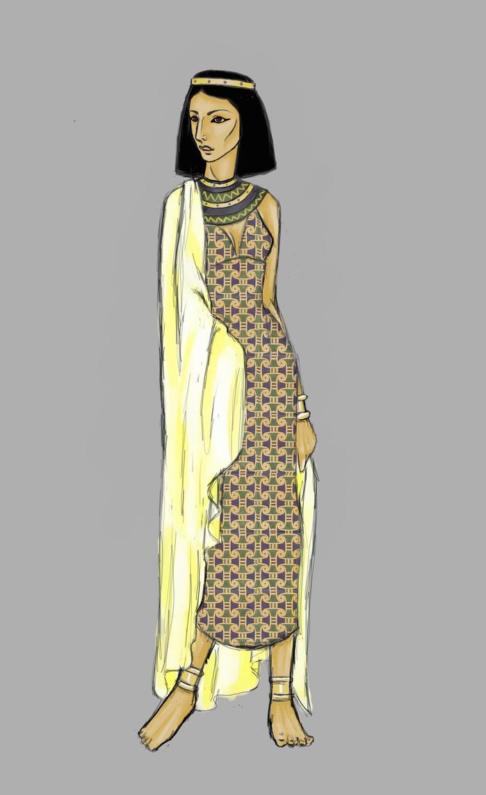 Egyptian Woman by MadamWitch on DeviantArt