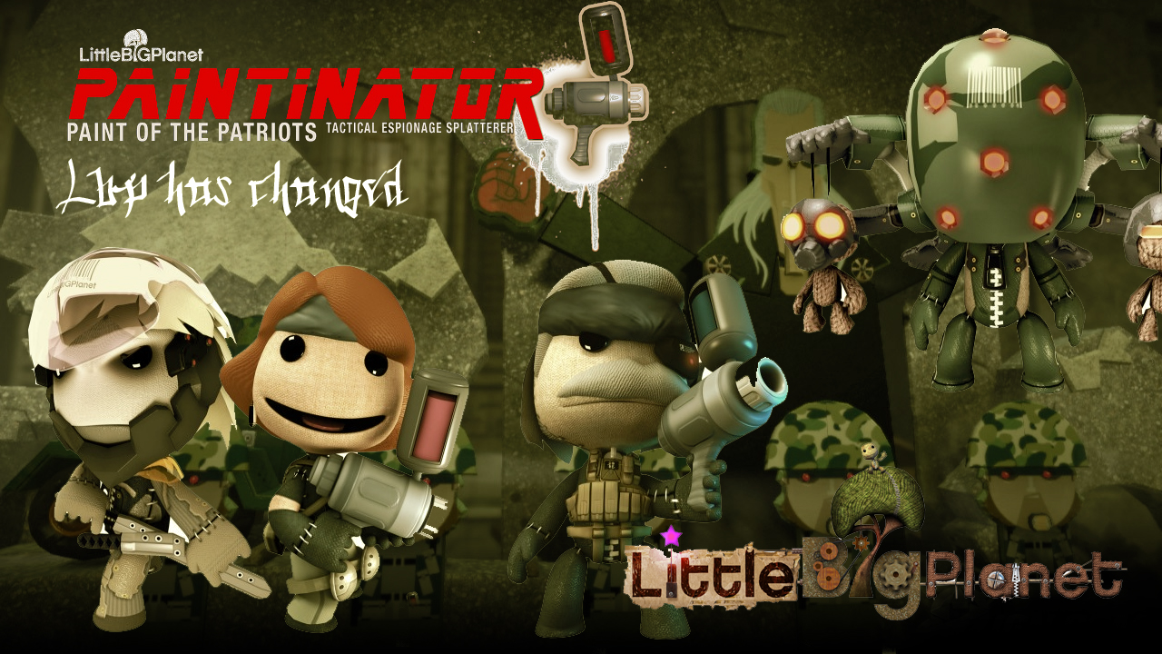 Little Big Planet Paintinator by mustash2003