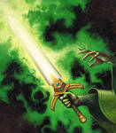 Warcraft CCG: Focus Sword