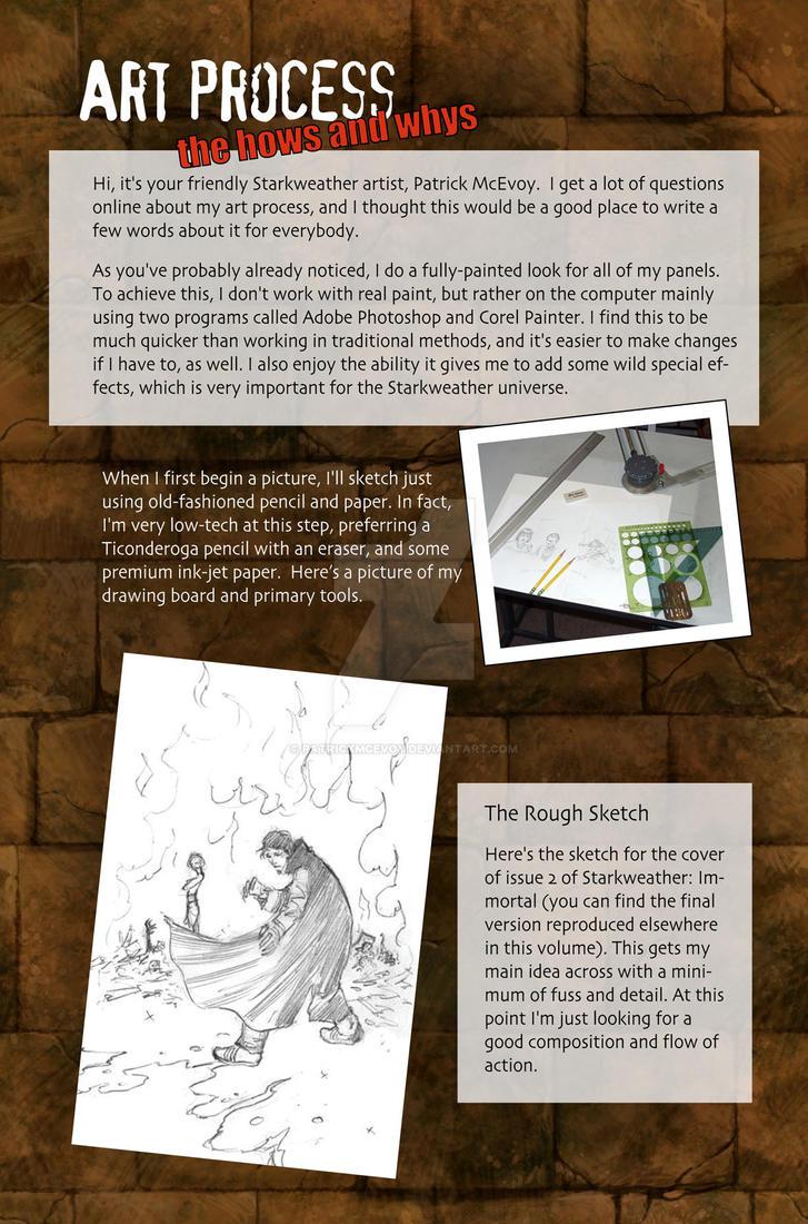digital art process page 1 by PatrickMcEvoy