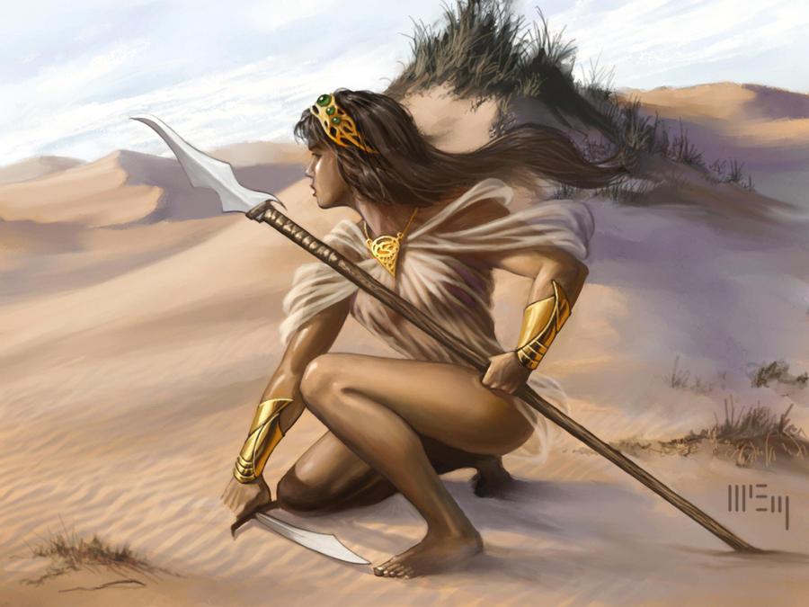 Game of Thrones: Spearmaiden by PatrickMcEvoy