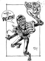 Judge Death Commission by PatrickMcEvoy