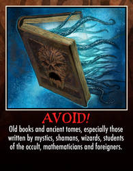 Lovecraft Survival: detail 1 by PatrickMcEvoy